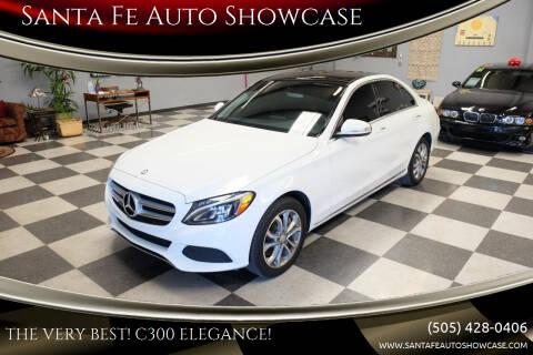 2015 Mercedes-Benz C-Class for sale at Santa Fe Auto Showcase in Santa Fe NM