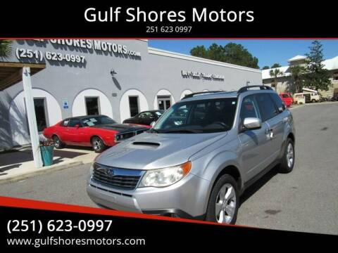 2010 Subaru Forester for sale at Gulf Shores Motors in Gulf Shores AL