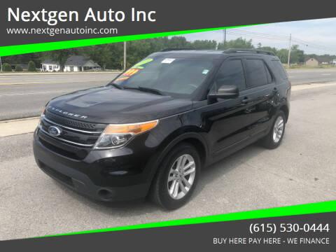 2014 Ford Explorer for sale at Nextgen Auto Inc in Smithville TN