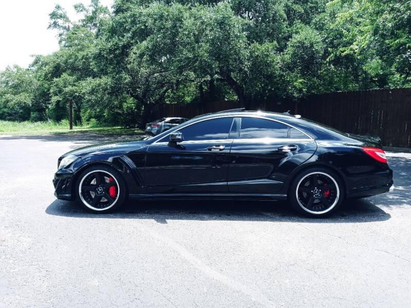 2012 Mercedes-Benz CLS for sale at 57 Auto Sales in San Antonio TX