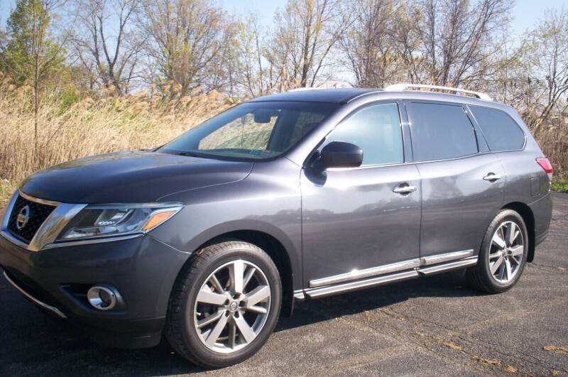 2014 Nissan Pathfinder for sale at Action Auto Wholesale - 30521 Euclid Ave. in Willowick OH