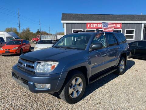 2004 Toyota 4Runner for sale at Y City Auto Group in Zanesville OH