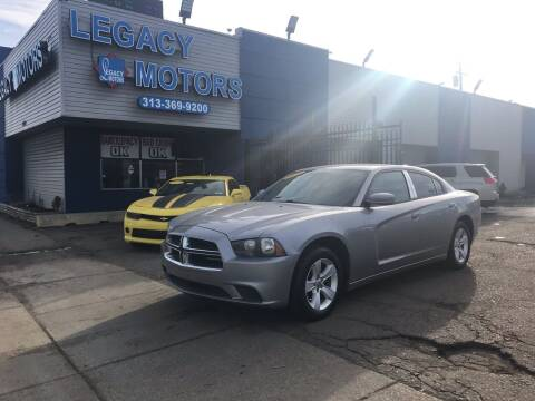 2011 Dodge Charger for sale at Legacy Motors in Detroit MI