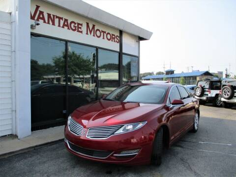 2014 Lincoln MKZ for sale at Vantage Motors LLC in Raytown MO