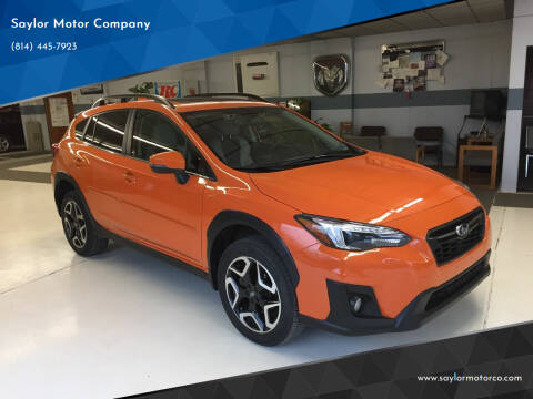 2019 Subaru Crosstrek for sale at Saylor Motor Company in Somerset PA
