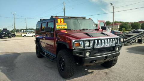 2003 HUMMER H2 for sale at Kelly & Kelly Supermarket of Cars in Fayetteville NC