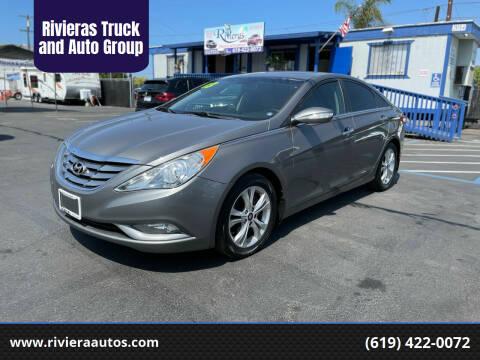 2013 Hyundai Sonata for sale at Rivieras Truck and Auto Group in Chula Vista CA