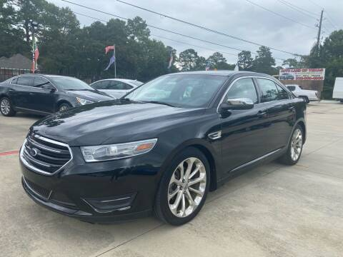 2013 Ford Taurus for sale at Auto Land Of Texas in Cypress TX