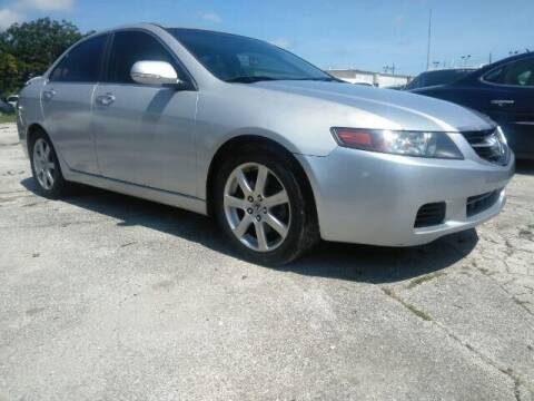2004 Acura TSX for sale at JacksonvilleMotorMall.com in Jacksonville FL
