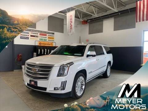 2017 Cadillac Escalade ESV for sale at Meyer Motors in Plymouth WI