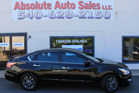 2015 Nissan Altima for sale at Absolute Auto Sales in Fredericksburg VA
