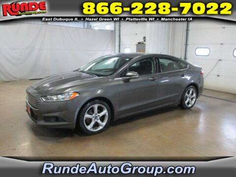 2016 Ford Fusion for sale at Runde PreDriven in Hazel Green WI