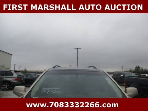 2007 Cadillac SRX for sale at First Marshall Auto Auction in Harvey IL