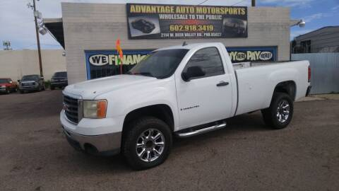 2008 GMC Sierra 2500HD for sale at Advantage Motorsports Plus in Phoenix AZ