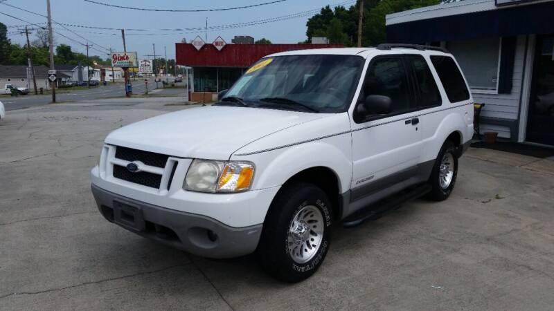 2001 Ford Explorer Sport for sale at West Elm Motors in Graham NC