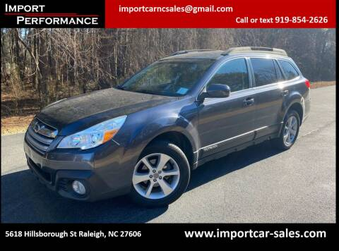 2013 Subaru Outback for sale at Import Performance Sales in Raleigh NC