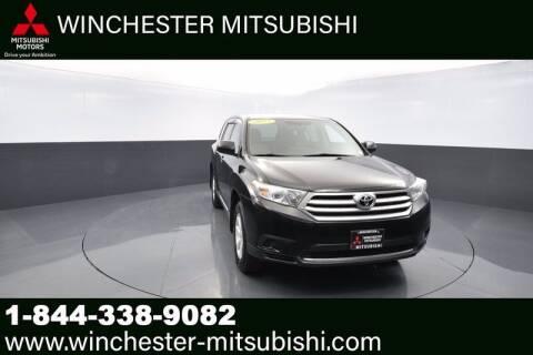 2013 Toyota Highlander for sale at Winchester Mitsubishi in Winchester VA