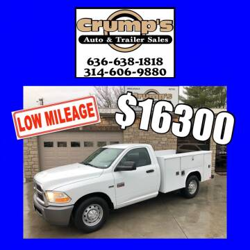 2011 RAM Ram Chassis 2500 for sale at CRUMP'S AUTO & TRAILER SALES in Crystal City MO