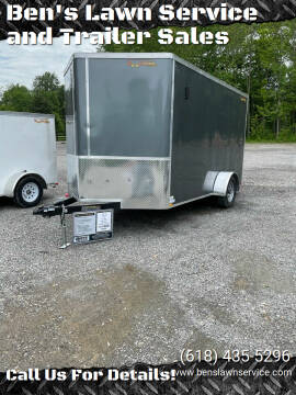 2021 Doolittle BL7X12S for sale at Ben's Lawn Service and Trailer Sales in Benton IL