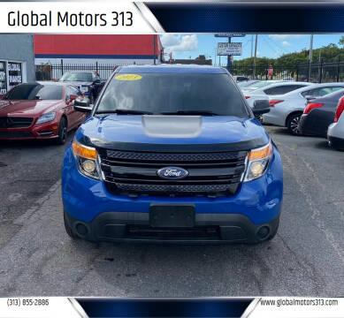2013 Ford Explorer for sale at Global Motors 313 in Detroit MI