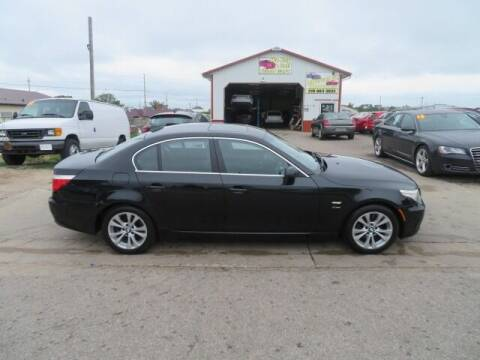 2009 BMW 5 Series for sale at Jefferson St Motors in Waterloo IA