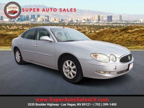 2005 Buick LaCrosse for sale at Super Auto Sales in Las Vegas NV