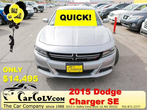 2015 Dodge Charger for sale at The Car Company in Las Vegas NV
