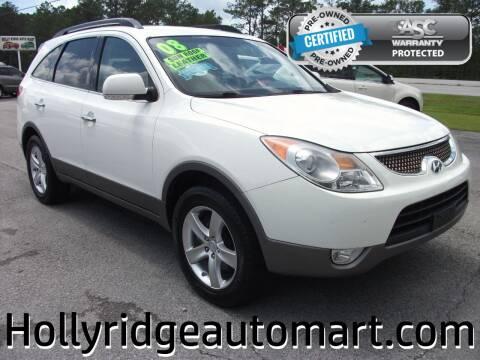 2008 Hyundai Veracruz for sale at Holly Ridge Auto Mart in Holly Ridge NC