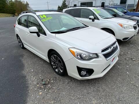 2014 Subaru Impreza for sale at ALL WHEELS DRIVEN in Wellsboro PA