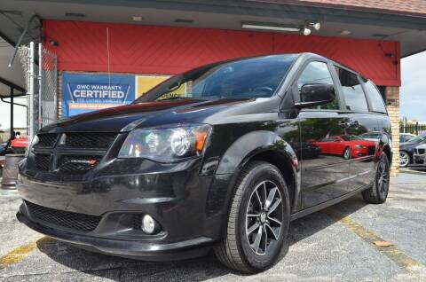 2017 Dodge Grand Caravan for sale at ALWAYSSOLD123 INC in North Miami Beach FL