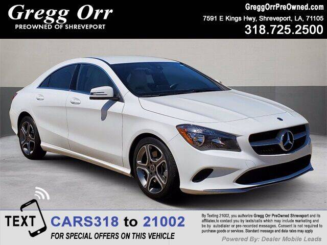 2018 Mercedes-Benz CLA for sale in Shreveport, LA