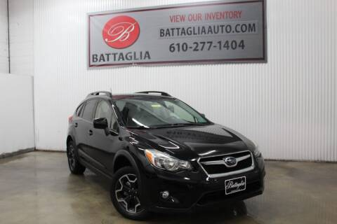 2013 Subaru XV Crosstrek for sale at Battaglia Auto Sales in Plymouth Meeting PA