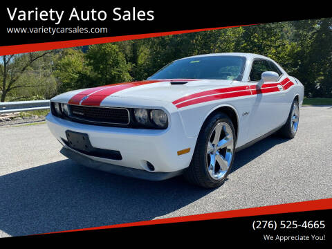 2010 Dodge Challenger for sale at Variety Auto Sales in Abingdon VA