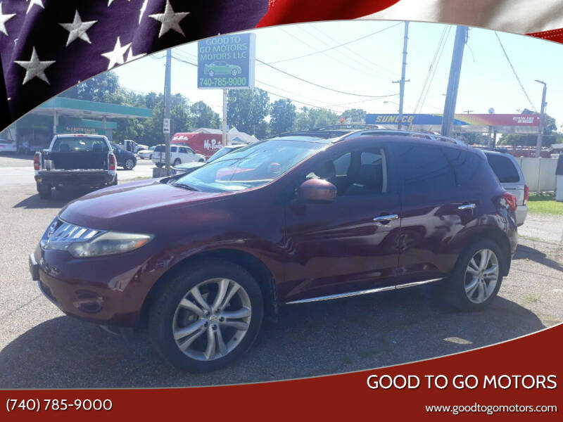 2009 Nissan Murano for sale at Good To Go Motors in Lancaster OH