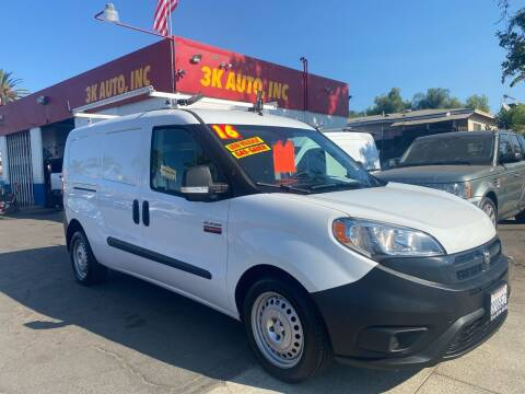 2016 RAM ProMaster City Cargo for sale at 3K Auto in Escondido CA
