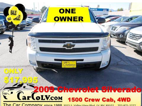 2009 Chevrolet Silverado 1500 for sale at The Car Company in Las Vegas NV