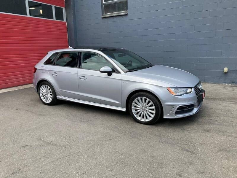 2016 Audi A3 Sportback e-tron for sale at Paramount Motors NW in Seattle WA