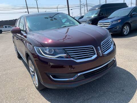 2018 Lincoln MKX for sale at M-97 Auto Dealer in Roseville MI