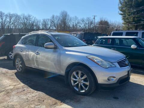 2008 Infiniti EX35 for sale at D & M Auto Sales & Repairs INC in Kerhonkson NY