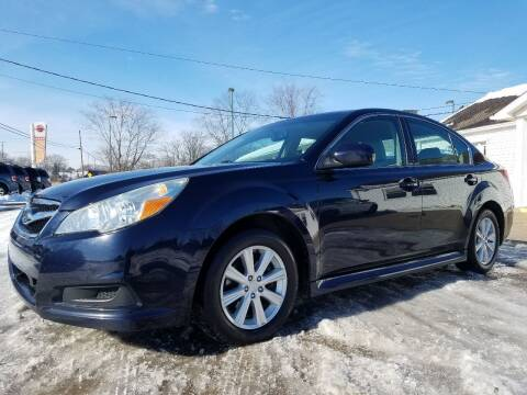 2012 Subaru Legacy for sale at CarNation Auto Group in Alliance OH