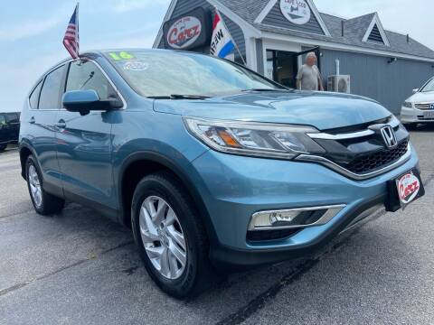 2016 Honda CR-V for sale at Cape Cod Carz in Hyannis MA