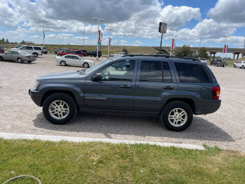 2003 Jeep Grand Cherokee for sale at GILES & JOHNSON AUTOMART in Idaho Falls ID