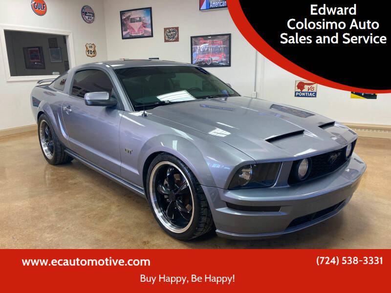 2006 Ford Mustang for sale at Edward Colosimo Auto Sales and Service in Evans City PA