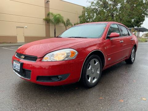 2008 Chevrolet Impala for sale at 707 Motors in Fairfield CA
