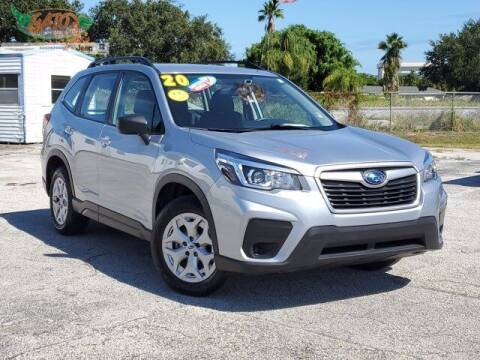 2020 Subaru Forester for sale at GATOR'S IMPORT SUPERSTORE in Melbourne FL