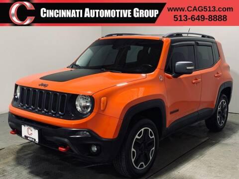 2015 Jeep Renegade for sale at Cincinnati Automotive Group in Lebanon OH