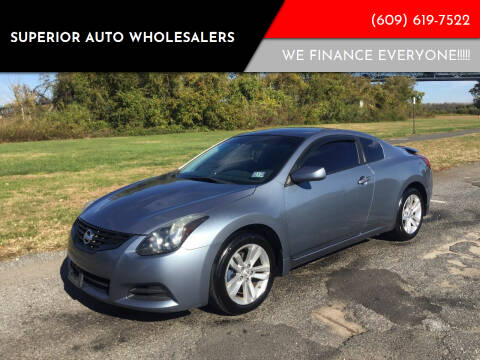 2012 Nissan Altima for sale at Superior Auto Wholesalers in Burlington City NJ