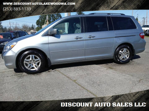 2006 Honda Odyssey for sale at DISCOUNT AUTO SALES LLC in Lakewood WA