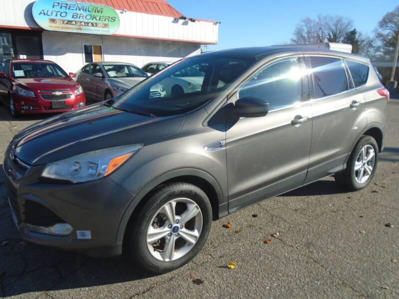 2013 Ford Escape for sale at Premium Auto Brokers in Virginia Beach VA