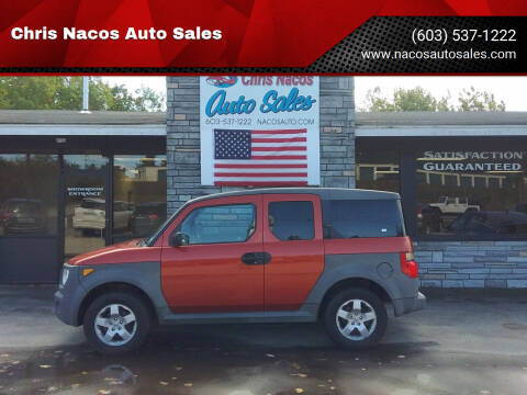 2005 Honda Element for sale at Chris Nacos Auto Sales in Derry NH